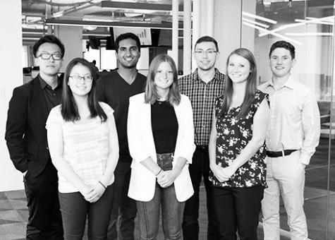 intern program group photo