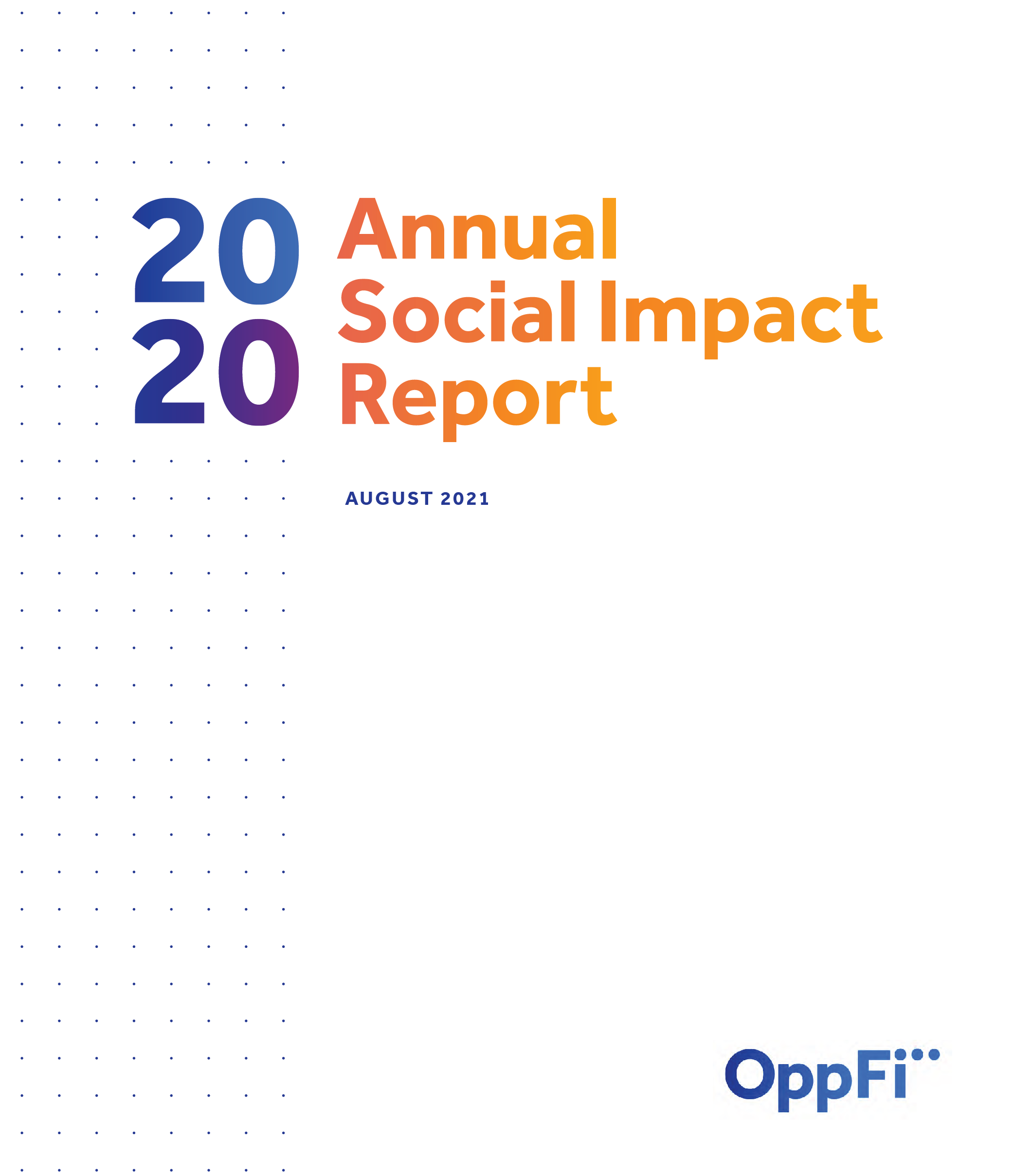 2020 Annual Social Impact Report